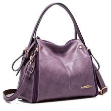 Frauen Messenger Bags Marke Mode Nubukleder Handtasche Retro Dame Umhängetasche Hochwertigem Leder Frauen Taschen 2016