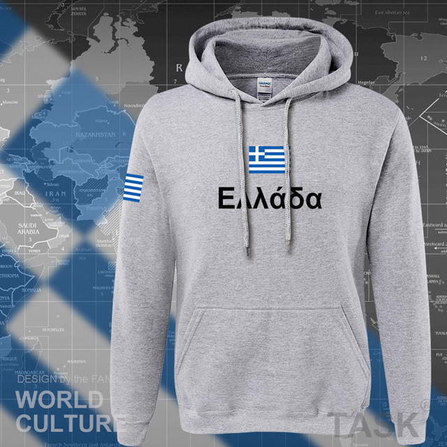 Greece hoodies men sweatshirt sweat new hip hop streetwear socceres jerseyes footballer tracksuit nation Greek flag Hellas GR 5