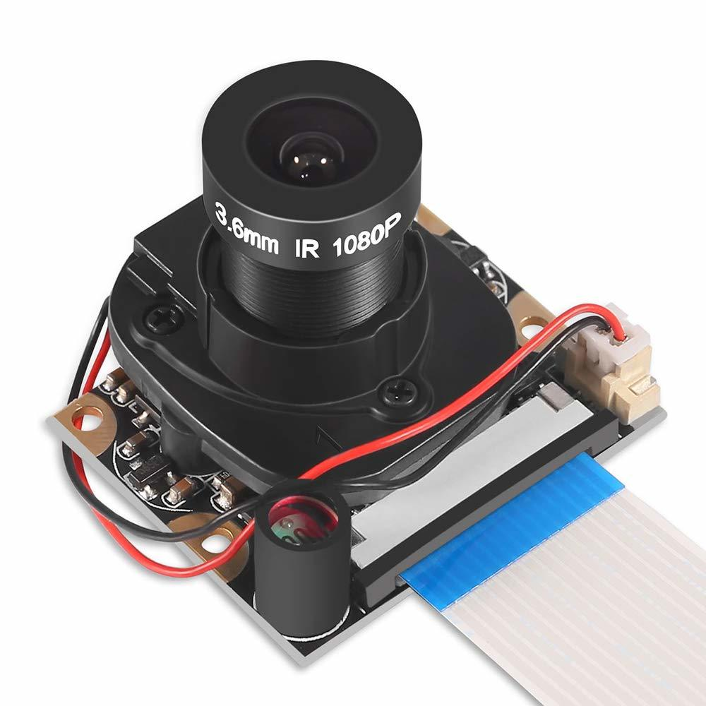 Raspberry Pi 3 Model B+ Camera Module Automatic IR-Cut Switching Day/Night Vision 5MP OV5647 Sensor 1080p HD Webcam For Pi 2 3