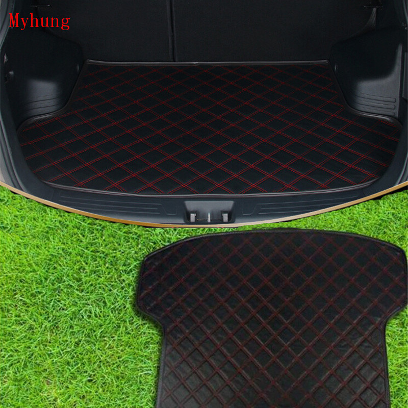 Boot Mat Rear Trunk Cargo Floor Tray Car Accessories  FIT FOR NISSAN  Teana Altima X Trail, Qashqai, Sunny, Sylphy Sentra for nissan xterra paladin 2002 2017 rear trunk security shield cargo cover high quality car trunk shade security cover