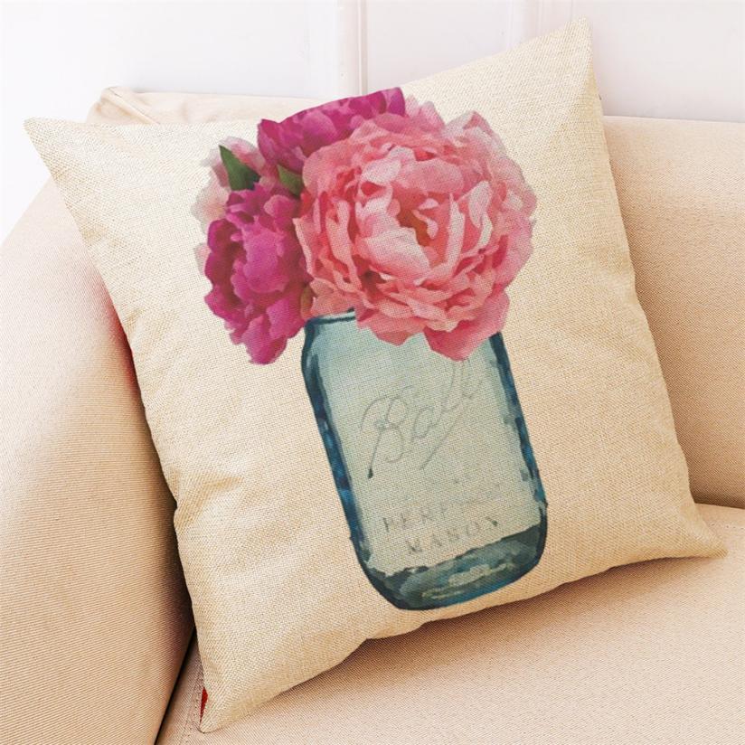 Gajjar Pillow Neck Pillows Home Decor Cushion Cover Hello Spring Throw Pillowcase Pillow Covers 4.3