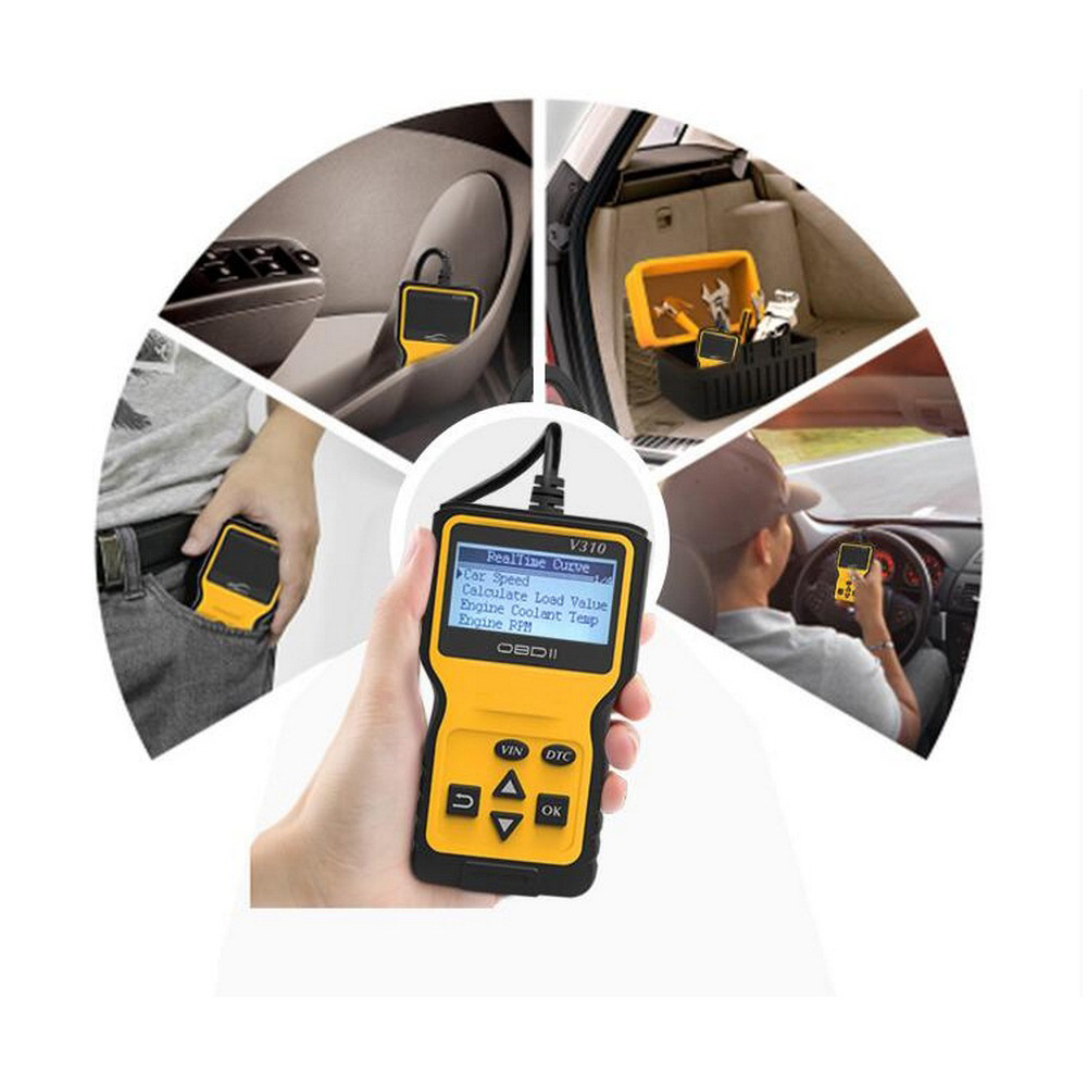 Image 5 - Car Fault Detector OBD Reader Read Error Diagnostic Scanner Engine Fault Code Reader Detector Display Diagnostic Scan Tool-in Code Readers & Scan Tools from Automobiles & Motorcycles
