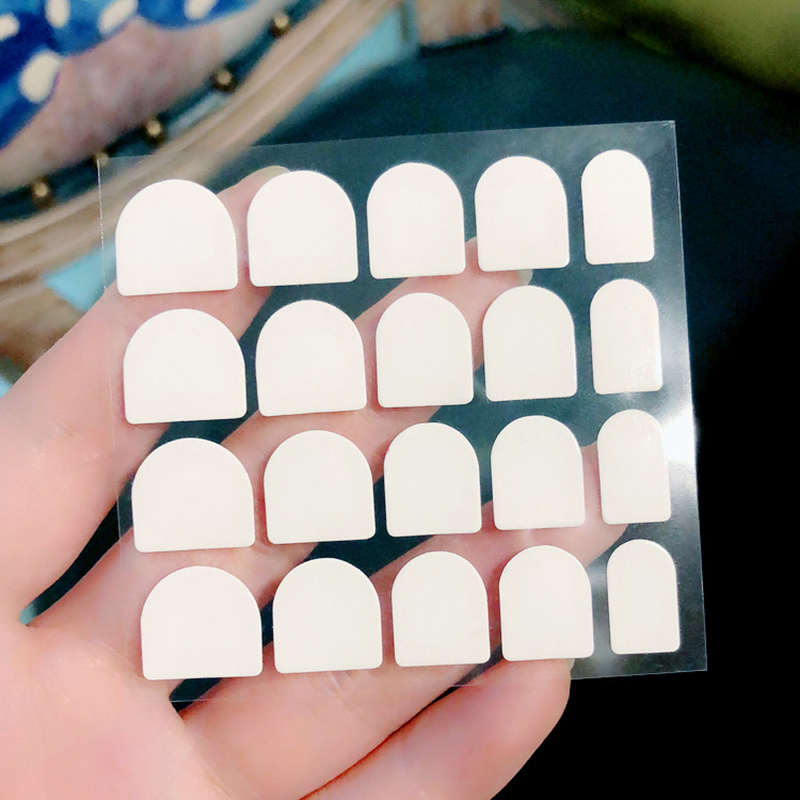 10 Sheets Sided Tape False Nail Tips Double Faced Adhesive Stickers ...