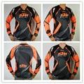 Atacado New KTM Motocross Camisetas Montanha Da Bicicleta Da Bicicleta Da Motocicleta Camisa de Ciclismo transpiração wicking Camisetas brancas