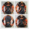 Wholesale New KTM Motocross T-shirts Mountain Bike Bicycle Cycling Jersey Motorcycle perspiration wicking T-shirts white