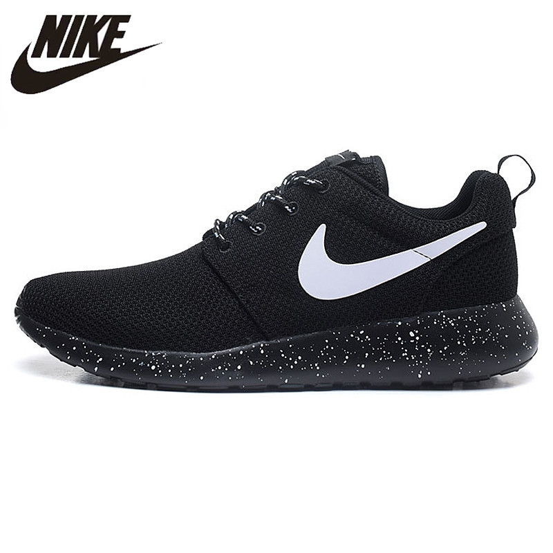 Nike Original New Arrival ROSHE RUN Men's Running Shoes Mesh Breathable Authentic Sneakers Shoes 511882 nike roshe run men mesh breathable running shoes sneakers trainers 511881 405