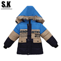 Brand Sunshine Kid 2016 Children Outerwear & Coats Girls Boys Warm Down Coat Jacket  Hooded Outwear Down Coat for Girls
