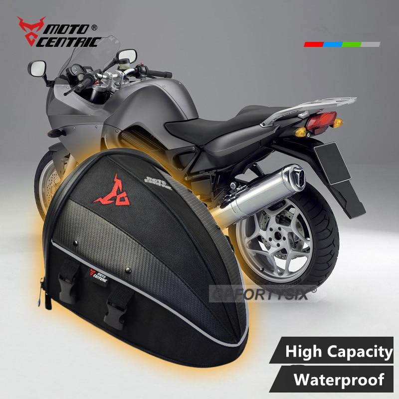 Motocross Moto Motorcycle Rear Bag Back Seat Bag Oxford Top Case Multifunction Shoulder Backpack Waterproof Stocked Mochilas