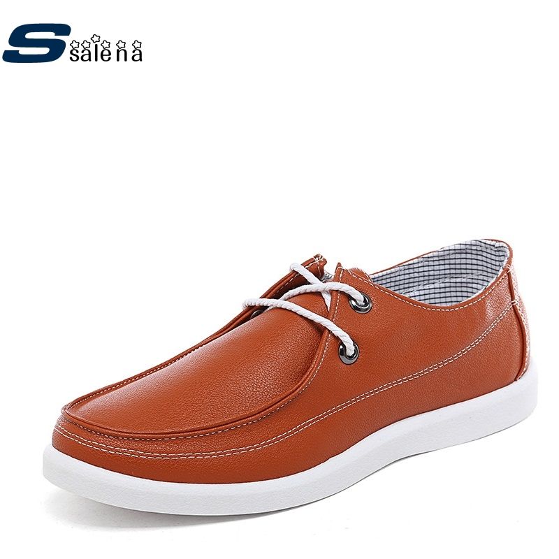 Male Casual Shoes High Quality Colorful Flats Leather Men Shoes Good Quality Working Shoes AA40060 male casual shoes soft footwear classic men working shoes flats good quality outdoor walking shoes aa20135