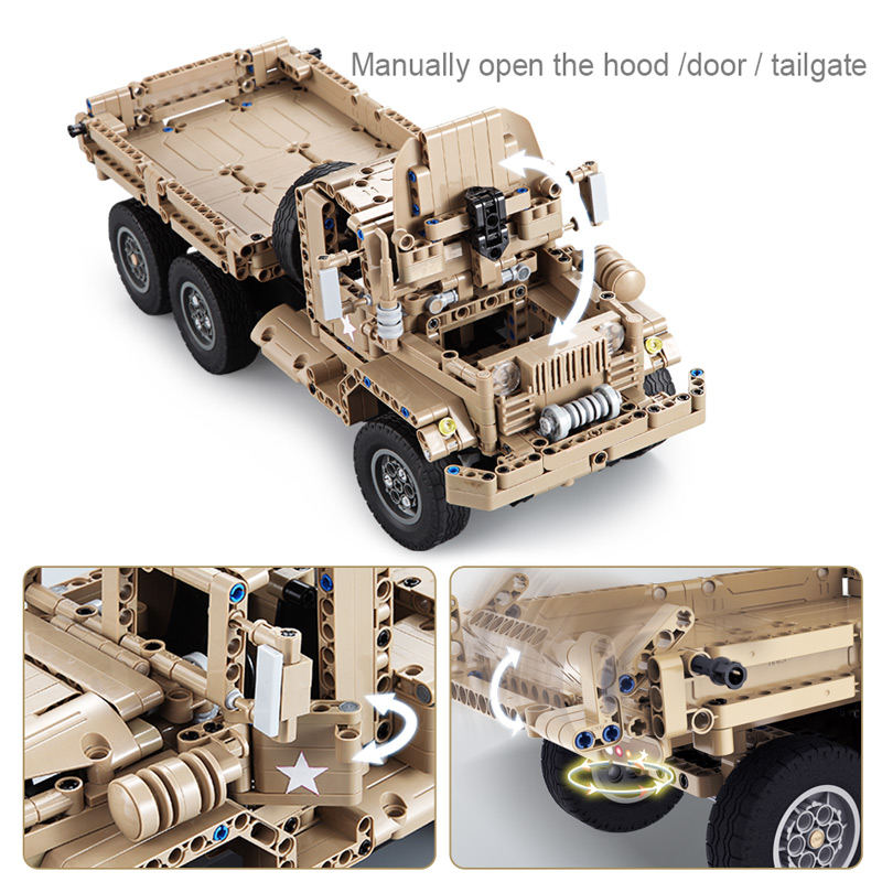 Cada C51042W RC Military Truck