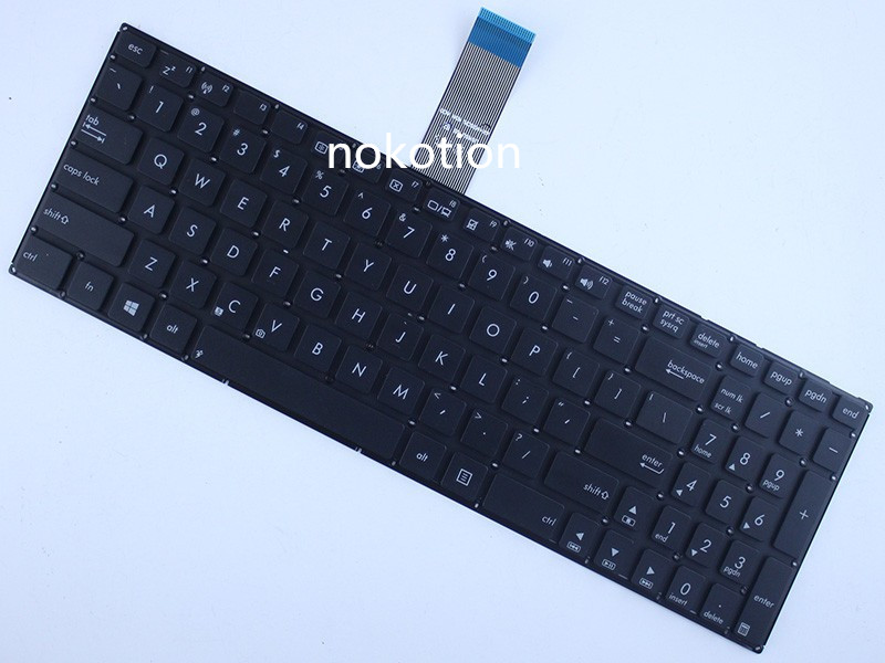 laptop keyboard for asus X550 X550C X501 X501A X501U X501EI X501XE X501XI X502 X550CC USBlack 9Z.N8SSU.401 1320D537330