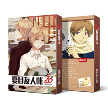 лучшая цена 30pcs Anime Cards Natsume Yuujinchou Postcard Greeting Card Message Card Christmas Gift Toys for Children