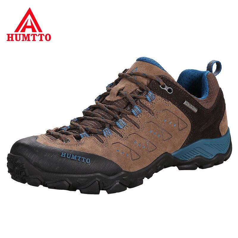 Trekking chasse tourisme chaussures de montagne professionnel hiver chaussures de randonnée en plein air respirant résistant aux éclaboussures escalade hommes Sneaker