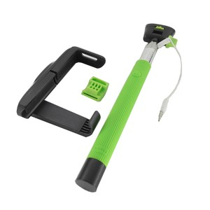 Image 2 - Z07 7 Audio kabel przewodowy Selfie Stick wysuwany monopod własny kij dla iPhone 7 6 plus 5 5S 4S IOS Samsung z systemem Android