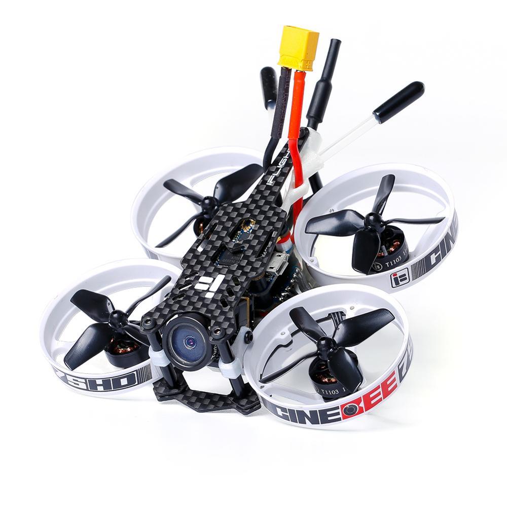 IFlight CineBee 75HD 75mm 2 3S Whoop z Caddx żółw V2 kamera/iff SucceX F4 data data powrotu (wieża/1103 2 3S silnik dla FPV RC drone w Części i akcesoria od Zabawki i hobby na  Grupa 1
