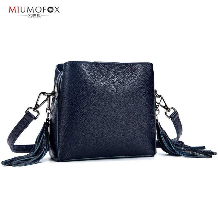Bags for Womens 2018 Cowhide Leather Tassel Women Bag bolsa feminina Fashion Shoulder Bags bolsos mujer Handbags Package W197 недорго, оригинальная цена