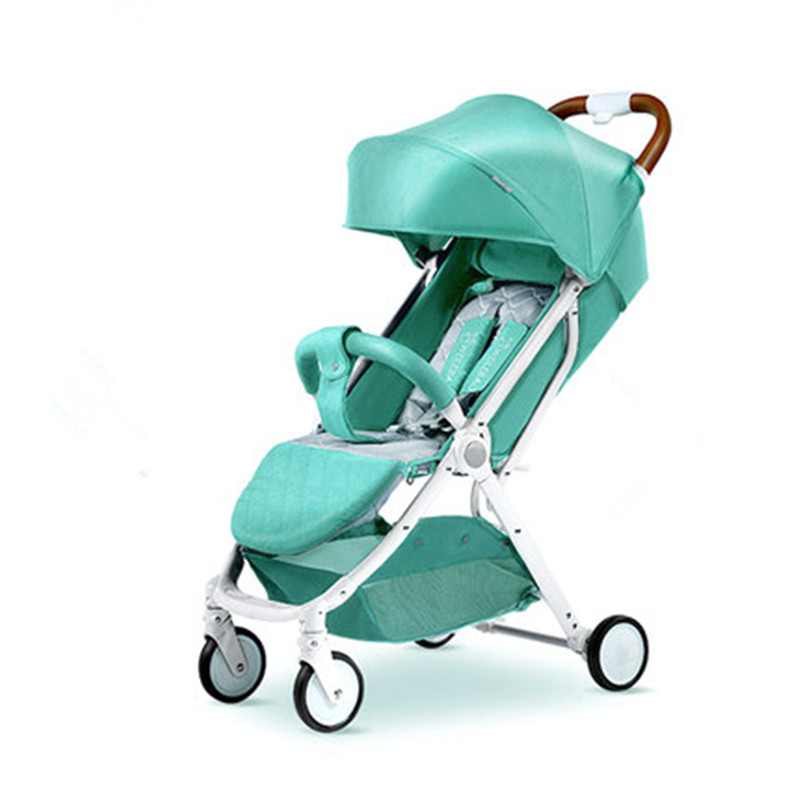 Ultra-light weight Baby stroller Aluminum alloy can sit can lie folding portable BB umbrella strollers