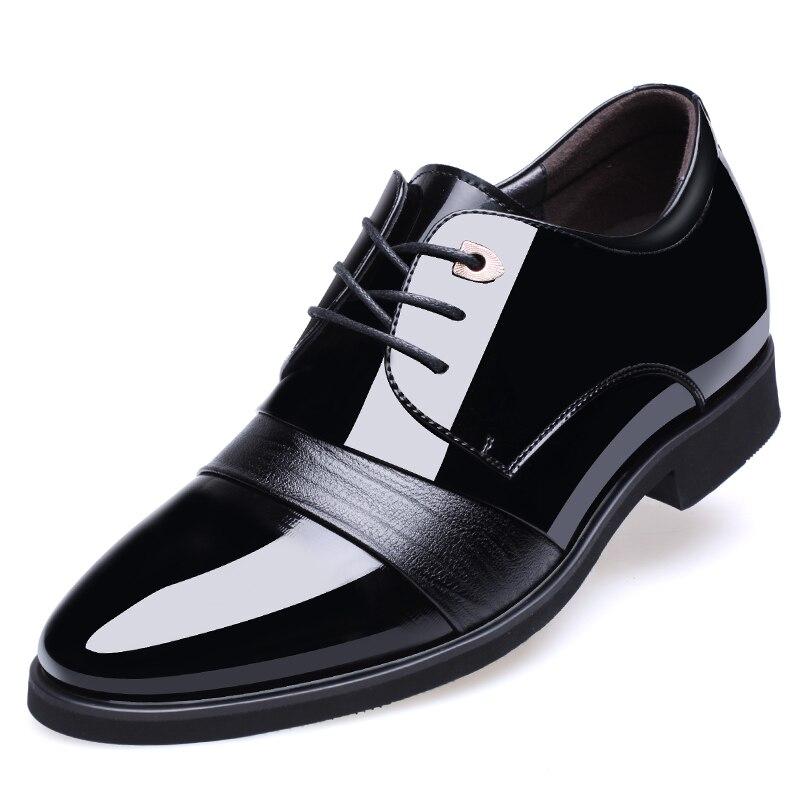 De Apontado Da030 Couro 2019 43 1 Casamento Dedo Dos Do Tamanho Vestido Moda Noivo Homens Hot Luxo Sapatos Oxford Grande 37 q0qxIFgw