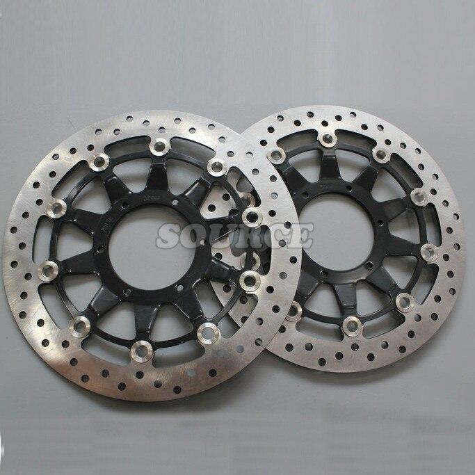 хорошее качество 2шт аксессуары для мотоциклов тормозные диски передний Тормозной диск ротора для Honda CBR1000 2008 2009 2010 2011 2012