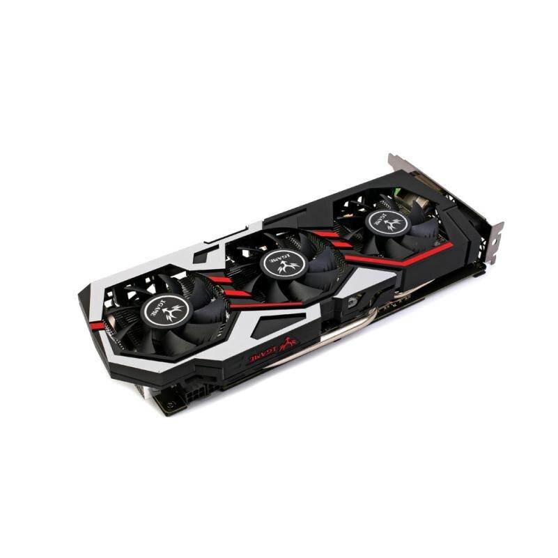 Colorido iGame 1060 GPU NVIDIA GeForce 6 GB GDDR5 PCI-E Placa Gráfica NO22 VR Pronto transporte Da Gota 16