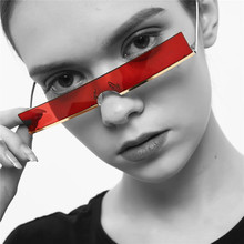 COOLSIR New Fashion Rectangle Sunglasses Women 2019 Men Brand Designer Red Black Clear Lens Metal Frames Sun Glasses Trend Gift