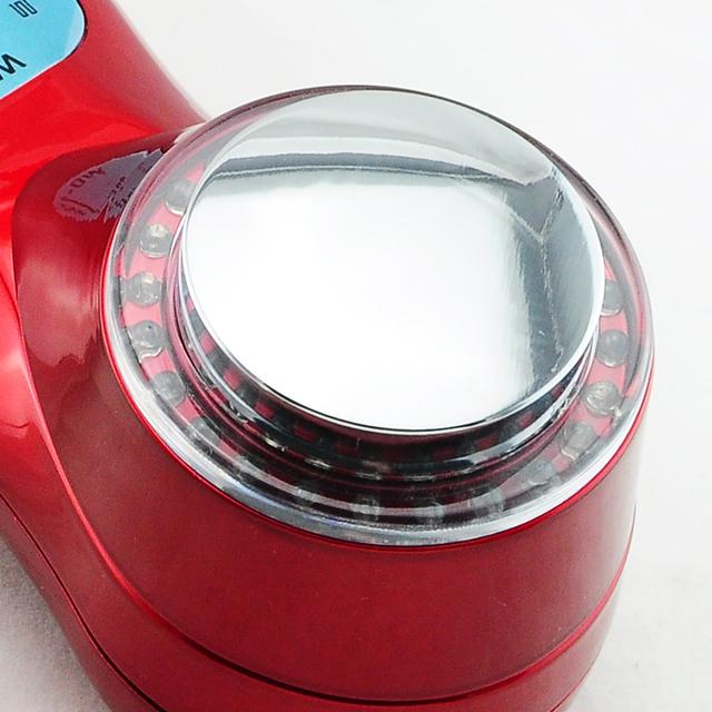 7 Colors Ultrasonic LED Massager