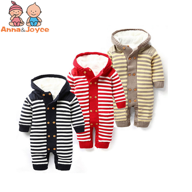 Punctual Baby New Double-breasted Thickening Autumn And Winter Warm Soft Romper Kids Cotton Fashion Climb Clothes Tst0037 To Have Both The Quality Of Tenacity And Hardness