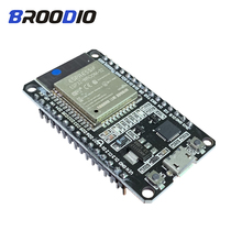ESP32 ESP-32 ESP32S ESP 32 Development Board 2.4GHZ Wireless WiFI+Bluetooth Consumption Dual-Core Ultra-Low Power ESP8266 Module official doit esp32 development board wifi bluetooth ultra low power consumption dual core esp 32 esp 32s esp 32 similar esp8266