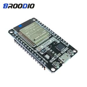 Image 1 - ESP32 ESP 32 ESP32S ESP 32 Development Board 2.4GHZ Wireless WiFI+Bluetooth Consumption Dual Core Ultra Low Power ESP8266 Module