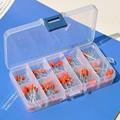 Filme de poliéster metalizado capacitores variedade kit, 10nF ~ 470nF