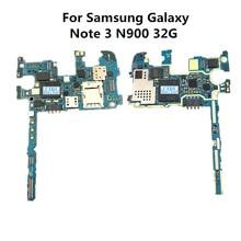 Полностью Рабочая оригинальная плата для samsung Galaxy Note3 Note 3 N900 32G разблокировка материнская плата логика материнская плата