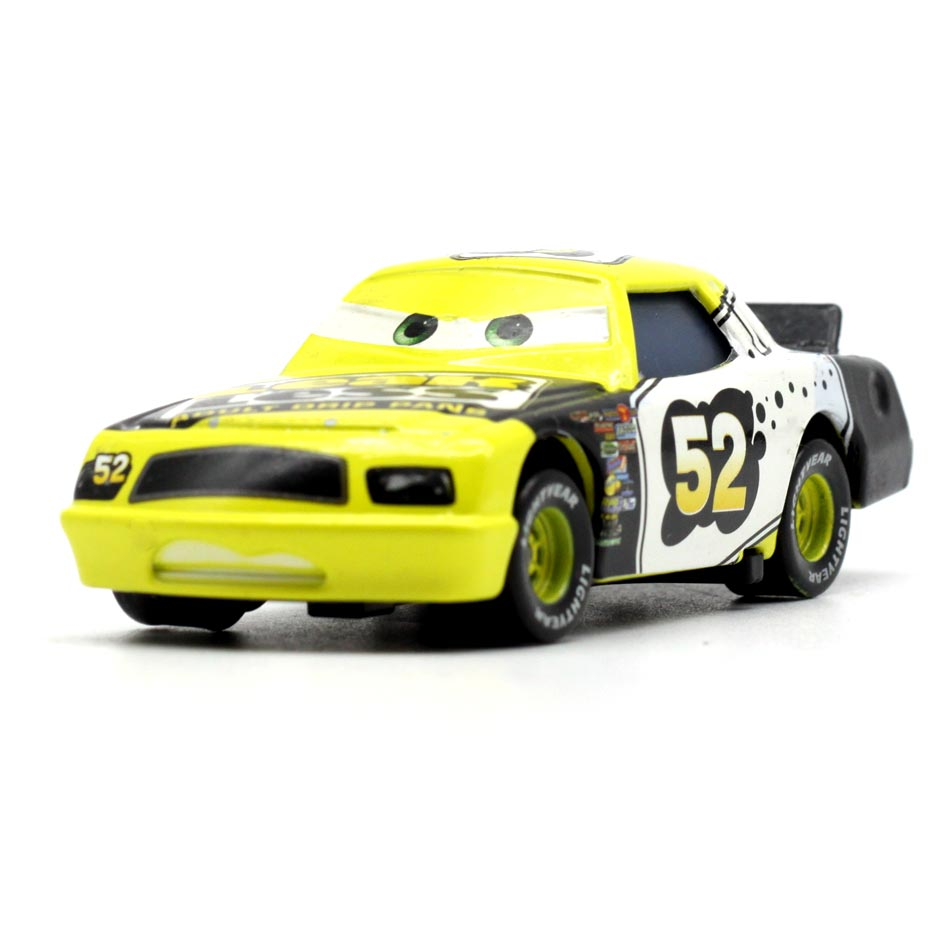 Disney Pixar Racing Cars 3 NO.52 Toys Mater 1:55 Diecast Metal Alloy Model Figures Birthday Gift Toys For Kids Boys