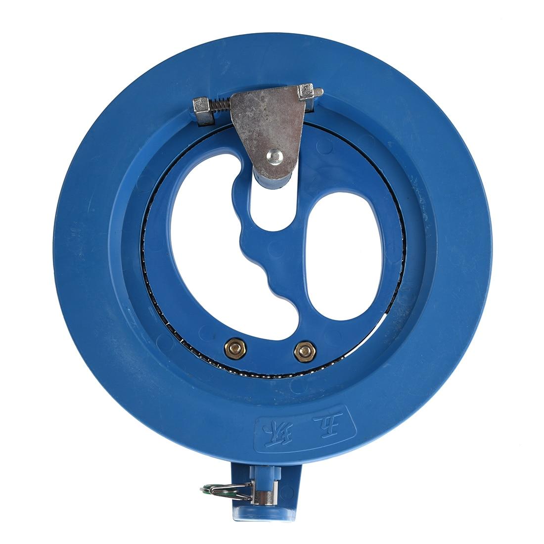 New-Blue-Outdoor-Kite-Tool-Ballbearing-Blue-Plastic-Reel-Line-Winder-2