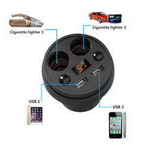 Cup Car Charger with Display