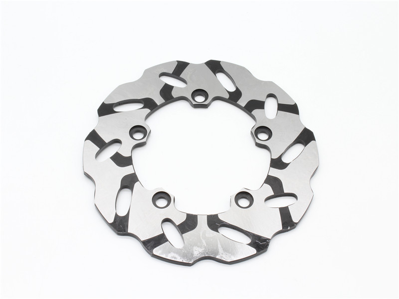 Motorcycle Rear Brake Disc Rotor Fits For Y A M A H A 600cc YZF R6 YZF-R6 2003-2015-up YZF R6S 2007 motorcycle part front rear brake disc rotor for yamaha yzf r6 2003 2004 2005 yzfr6 03 04 05 black color