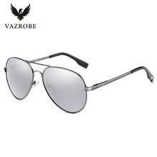 Vazrobe Sensors Automatically Chameleon Glasses Aviation Photochromic Sunglasses Polarized Men Driving Anti Glare UV400 Brand