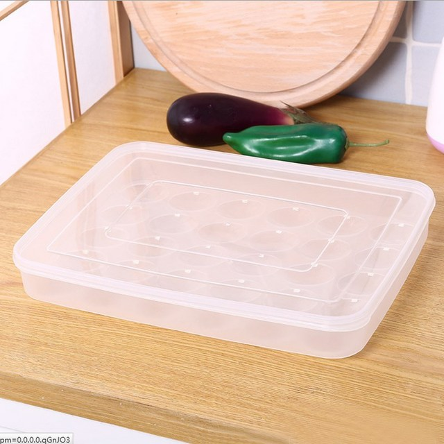 Plastic E Gg Box Clear Large Capacity Portable Home Picnic
