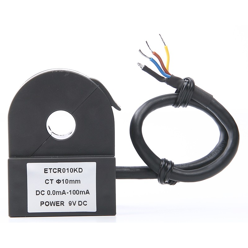 ETCR010KD retractable DC leakage current sensor DC leakage current, small DC current detection 0.0mA~100mA current sensor itead acs712 current sensor module dc ± 5a ac current detection module works w official arduino