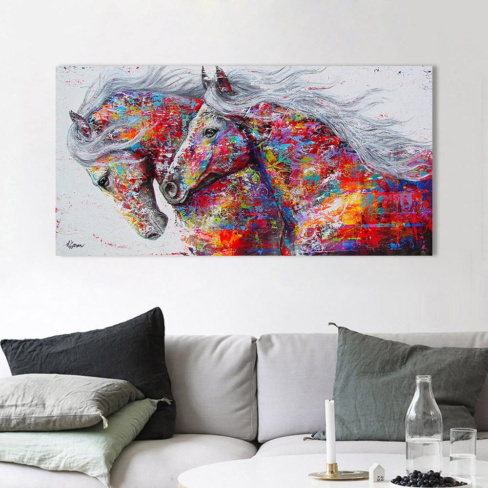 Running horse-1