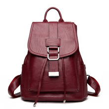 Дизайнер Высокое качество Женские Натуральная кожа рюкзак школьные сумки для подростков девочек сумка винтажные женские рюкзак Mochilas Эсколар