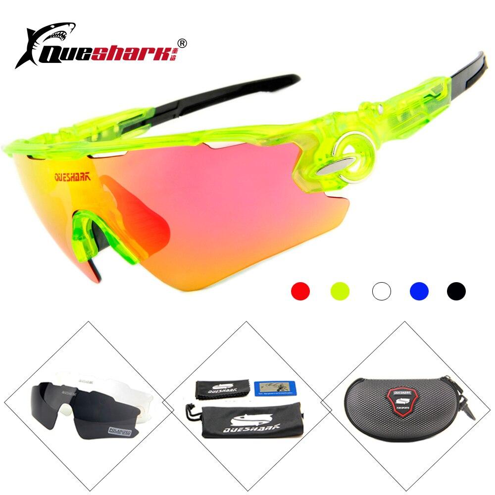e1f7adb5f0 Gafas de sol de bicicleta polarizadas de 3 lentes para hombres y mujeres  gafas de bicicleta de carretera de montaña deportivas para acampar,  senderismo, ...
