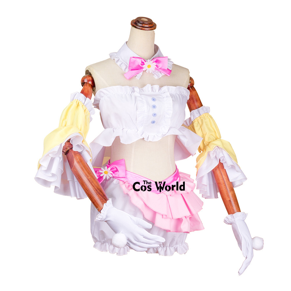 Vocaloid Hatsune Miku Rabbit Ear Tube Tops Underwear Uniform Outfit Anime Cosplay Costumes