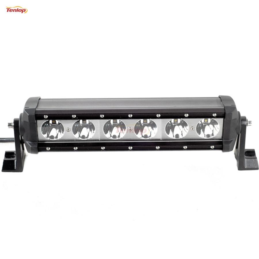 Hot Sale 13 Inch 6*10W 60W LED Light Bar For Offroad Wrangler 4*4 SUV ATV 12V 24V hot sale 9 inch 40w single row led light bar for offroad wrangler 4 4 suv atv 12v 24v