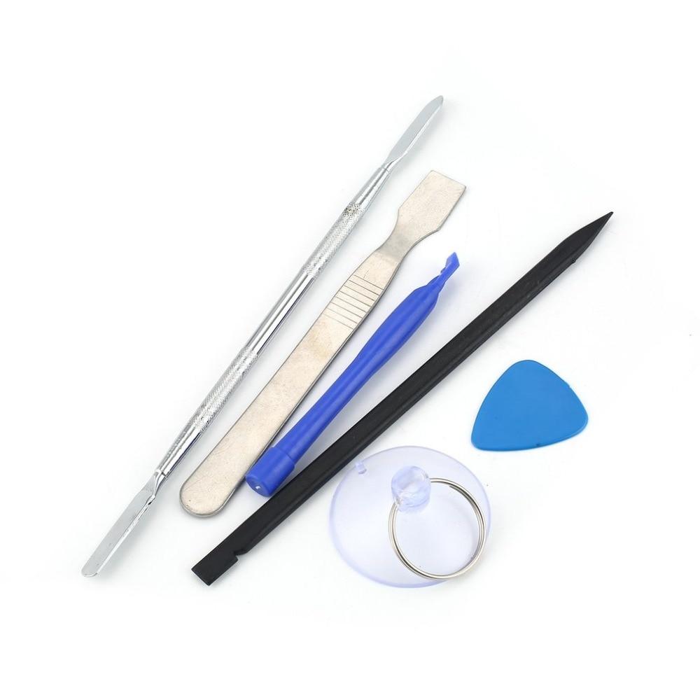 6pcs/set Repair Tools Kit Smartphone Dismantling Spudger Cell Phone Crowbar Scraper Laptop Tablet iPad Opening Repairing Tool
