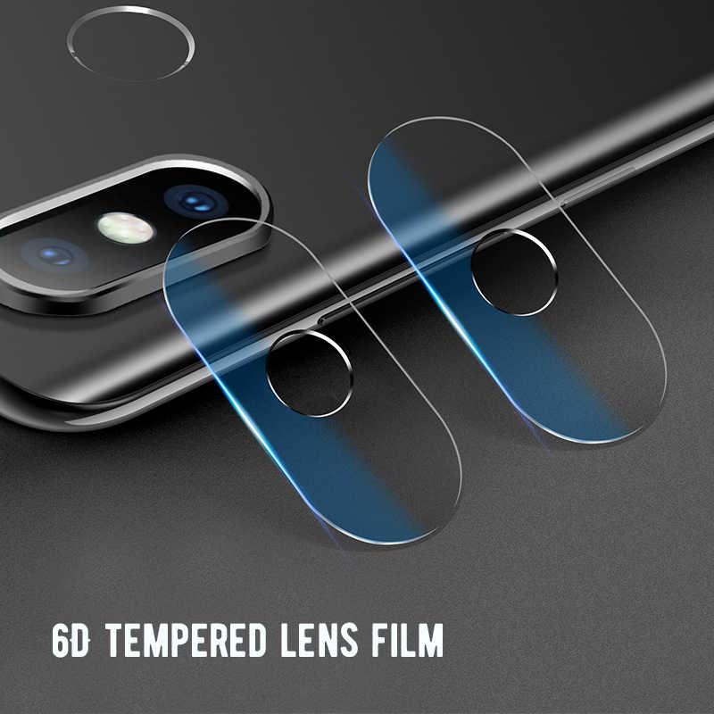 2 個カメラガラスフィルムシャオ mi mi 9 8 lite mi A2 A1 mi 最大 3 2 mi mi × 2 2 個バックカメラレンズガラス赤 mi 7 6A 注 7
