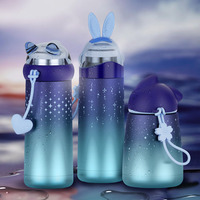 Space Star Stainless Steel Thermos Bottle Kid Thermo Mug Gift Cute Tumbler Thermal Vacuum Water Thermos Kids Thermos Moomin