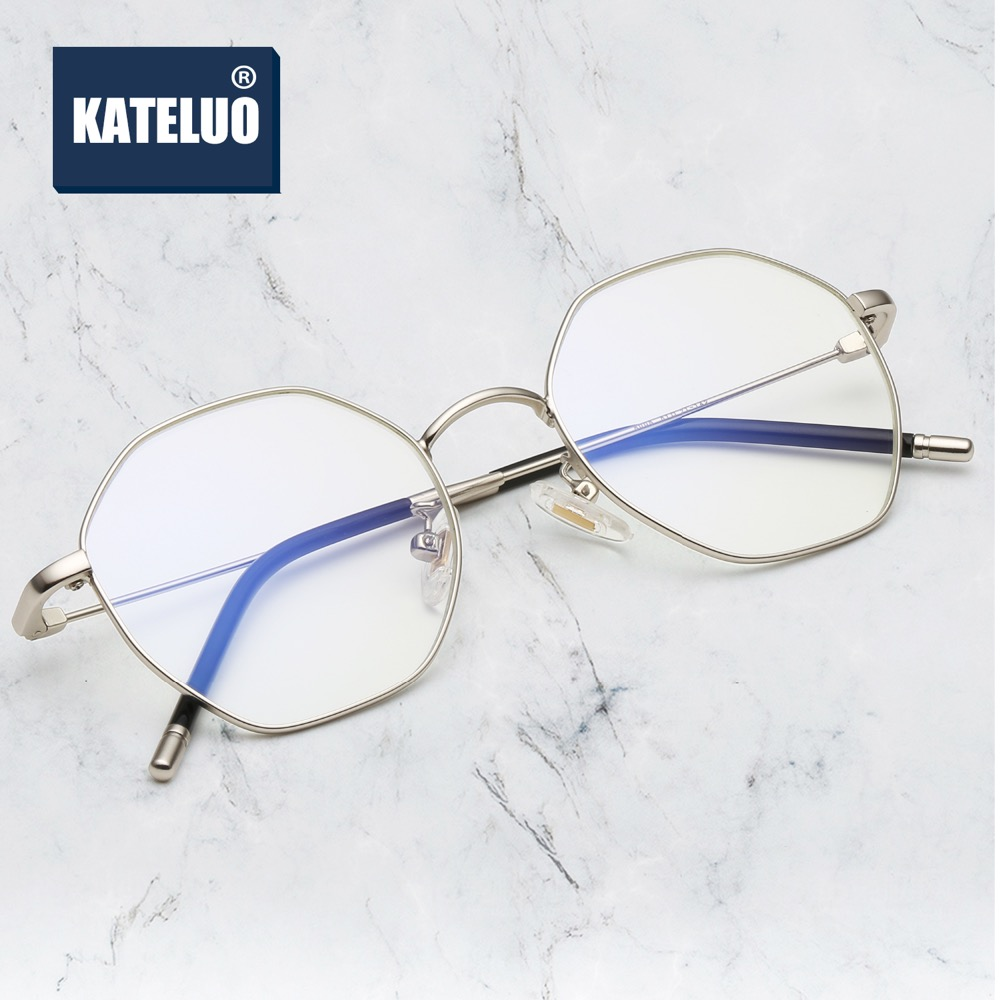 KATELUO Fashion Computer Goggles Womens Glasses Ladies Anti Blue Laser Eyeglasses Optical Spectacles Accessories For Women 8805