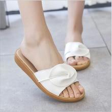 лучшая цена Summer Women Slides Fashion Women Slippers Sandals Soft Soles Home Bathroom Slippers Beach Flip Flops Shoes Woman Outside Flat