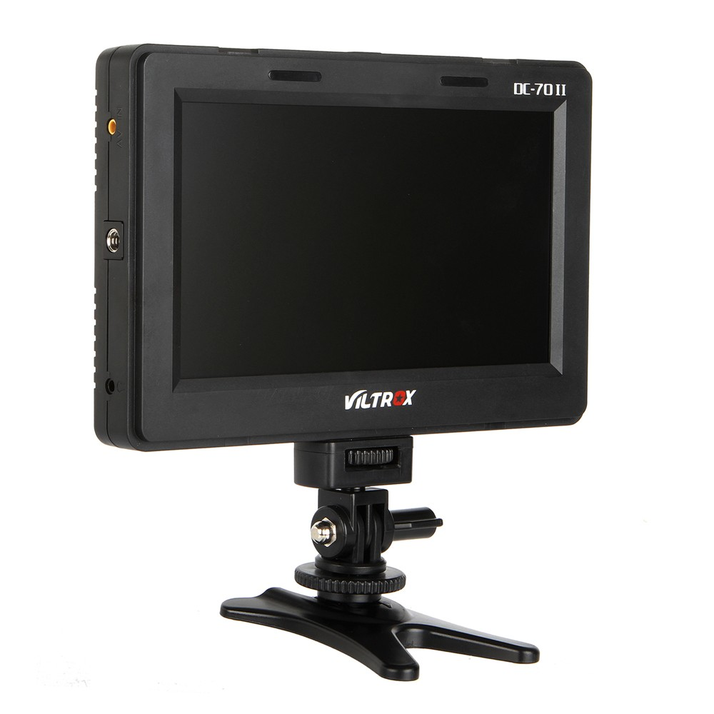 Viltrox DC-70 II 7 Clip-on Color TFT HD LCD Monitor Display HDMI AV Input for Canon Niko ...