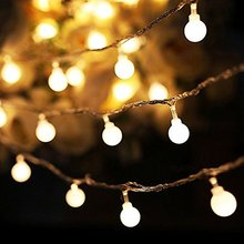 Globe Ball Battery Led string light 2M/3M/4M/5M/10M/20M Christmas holiday Wedding party garland decoration fairy light lamp